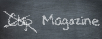 clip magazine chalkboard