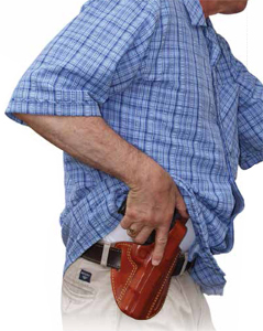 guy with holster